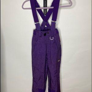 32 Degree Weatherproof  pants with suspenders XS